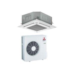 aire acondicionado cassette mitsubishi standard inverter