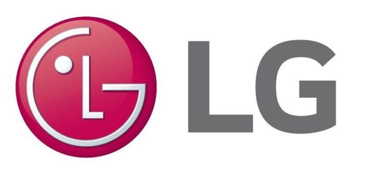 banner de la marca de maquinas de aire acondicionado LG