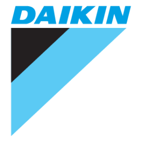 logo de la marca de aire acondicionado Daikin de venta en Climatize